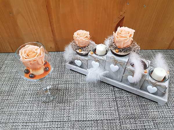 Bar à fleurs Montalieu - Bouquet pour amoureux