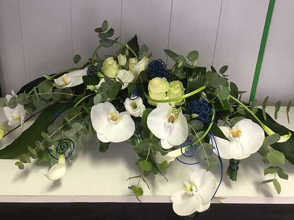 Bar à fleurs Montalieu - composition communion
