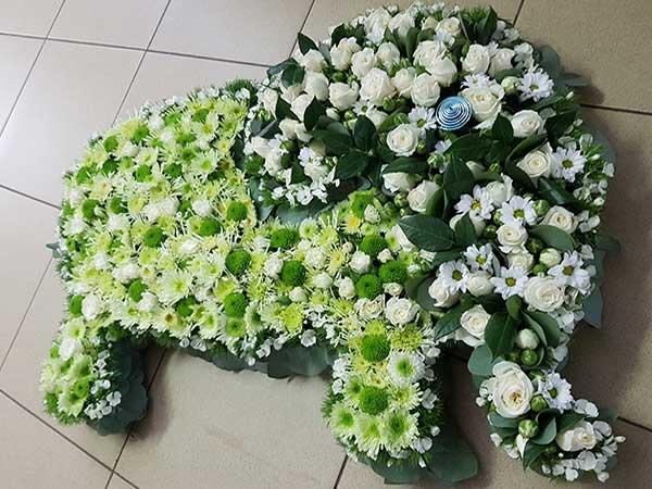 Bar à fleurs Montalieu - Décoration florale pour naissance